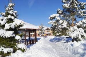 Зима в Белом Береге